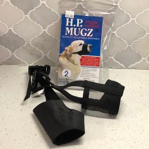 Set of 2 grooming muzzles - small